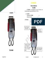 Manual Planatc Tb3000