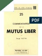 Serge Hutin - Mutus Liber