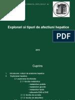 Expl Fct Hepatice 2019