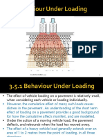 Behaviour Under Loading