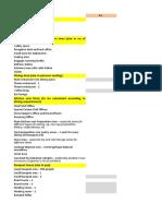 Hotel Design Problem Sheet