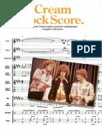 Cream Rock Score