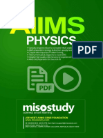 AIIMS  Physics Sample eBook