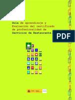 HOTR0608 Guía de aprendizaje y Evaluación del certificado de profesionalidad de Servicios de Restaurante.pdf