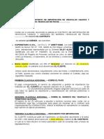 Adenda CONTRATO DE IMPORTACIÓN DE VEHICULOS