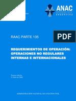 Boletín_Oficial_2.010-11-25-Administración_Nacional_de_Aviación_Civil-Resolución_980_2.010-Anexo_11-RAAC_Parte_135-Requerimientos_de_Operación-Operaciones_No_Regulares_Internas_e_Internacionales