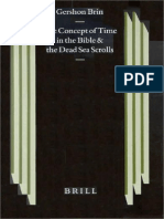 The Concept of Time in the Bible and The Dead Sea Scrolls