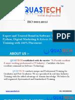 QUASTECH - Software Testing, Java, RPA, Python, Digital Marketing Training Institute