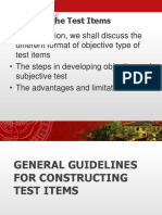 report1(constructing test items)