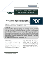 A New Validated Stability-Indicating RP-HPLC Method for the Estimation of Pitavastatin in Tablet Dosage Forms