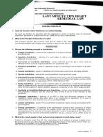 AUSL LMT Remedial Law