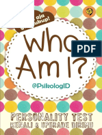 (PsikologID) Who Am I, Personality Test. Kenali & Upgrade Dirimu