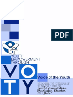 Voice Of The Youth Network Final BluePrint Vision 2020