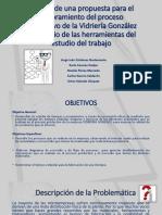 Estudio del Trabajo a la Empresa Vidrieria Gonzales (1)