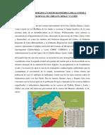 CARACTERISTICAS DE LA CUENCA DEL RIO CHILLÓN