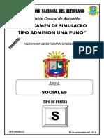 Examen Simulacro Sociales Fer Orurillo