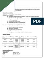 SudipMahaldar Resume