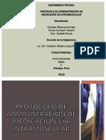 PROTOCOLO DE ADMINISTRACIÓN DE MEDICACIÓN VÍA INTRAMUSCULAR