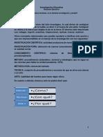 Investigación Educativa Resumen Ejecutivo