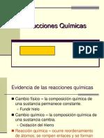 Reacciones y Estequiometría (1)
