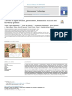 A review on lignin structure, pretreatments, fermentation reactions and biorefinery potential