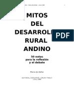 1988 Mitos Del Desarrollo Rural