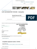 CAP AS-RADIATOR 1531403 - Caterpillar _ AVSpare.com