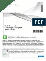 Pdfslide.net Mark Scheme for Cambridge Checkpoint Science Scheme for Cambridge Checkpoint Science
