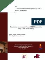 Simulation environment for an OFDM transmitter using UVM methodology.pdf