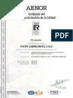 Fuchs Certificados