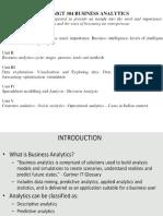 Business Analytics KU
