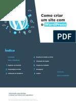 Como criar um site com o wordPress