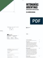 Grimson_2013_Mitomanias_argentinas