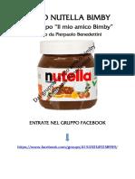 Tutto Nutella Bimby