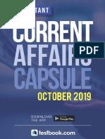 Current affairs October
