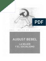Bebel Augusto - La Mujer Y El Socialismo.pdf