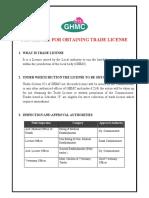 Trade License Process