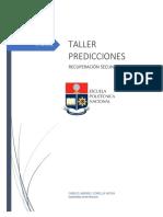 Taller Predicciones