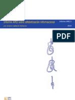 Informe APEI sobre alfabetización informacional