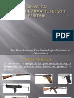 Balística y heridas de arma de fuego PARA aula