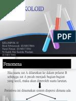 Kimia Koloid Kelompok 10