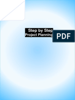 Step by step procedure for planning