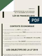 Présentation Loi de Finance 2019 en Tunisie - Malek Bessrour