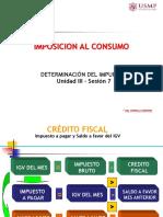 UNIDAD III Sesion 7 OK - Imposicion al Consumo - FSS