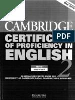 Cert. Proficiency 2 Versión 2002. PDF