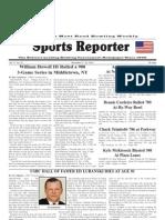 November 17, 2010 Sports Reporter