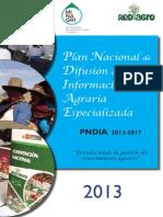 Plan Nacional de Difusión de la Información Agraria