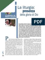 Zaccaria, Giovanni La Liturgia Presenza Della Gloria Di Dio