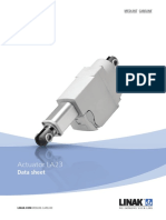 Linear Actuator-LA23-Data Sheet-Eng