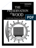 Milton, F. T. - The Preservation of Wood a Self Study Manual for Wood Treaters, 1995
